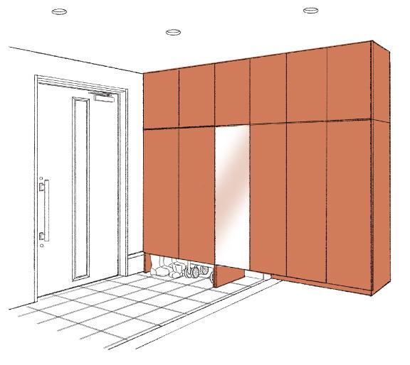 玄関収納の解決